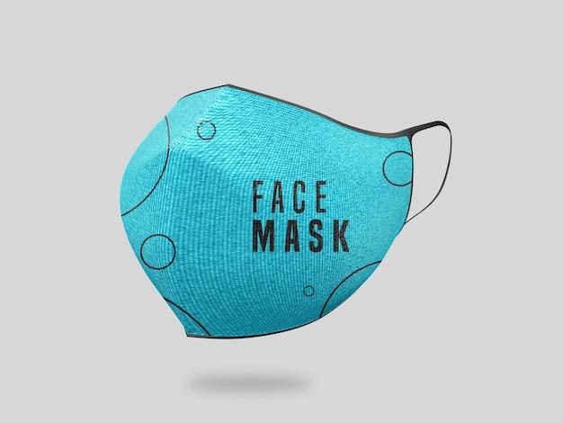 Gezichtsmasker mockup