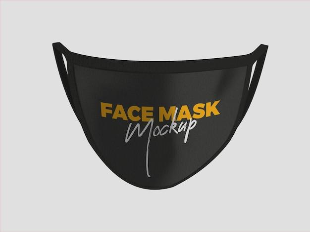 Gezichtsmasker-mockup