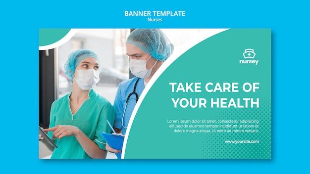 Gezondheidszorgconcept met verpleegsters