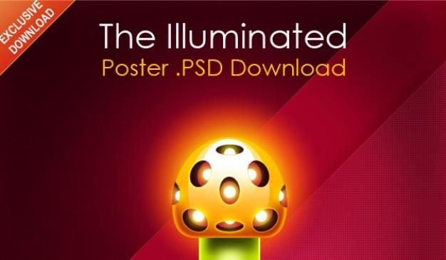 Gij vangen poster design in photoshop en nadelen
