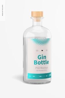 Gin fles mockup