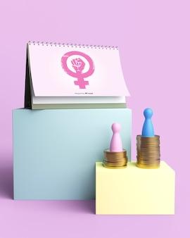 Girl power concept samenstelling
