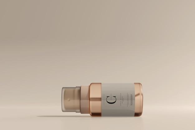 Glazen cosmetische spuitflesmodel