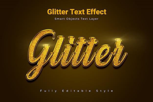 Glitter teksteffect