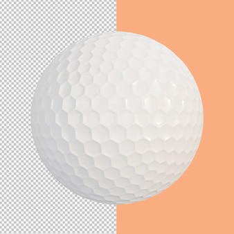 Golfbal geïsoleerde illustratie