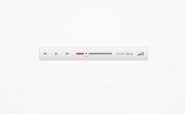 Google audio player redesigned