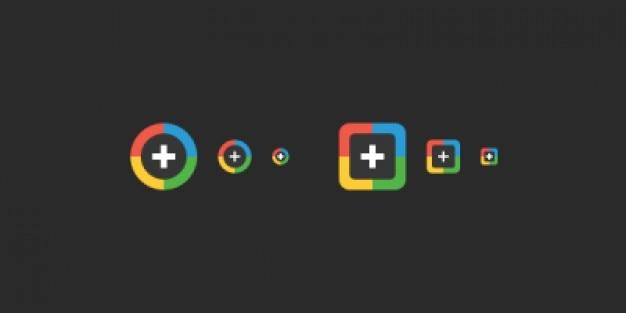 Google+ iconen