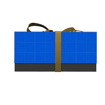 Goud & donker geschenkdoos mockup