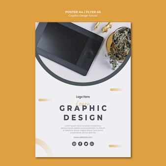 Grafisch ontwerp flyer-sjabloon