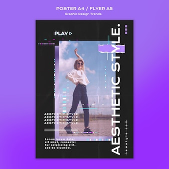 Grafisch ontwerp trends poster