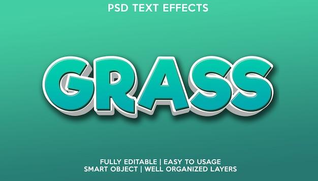 Gras teksteffect