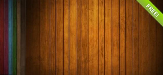 Gratis hout achtergrond instellen