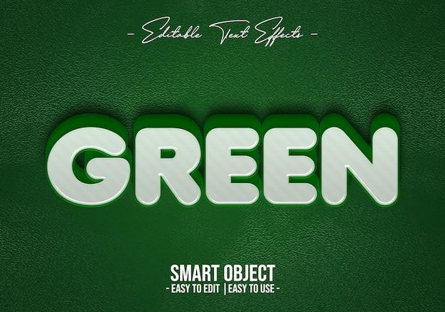Groen-tekst-stijl-effect