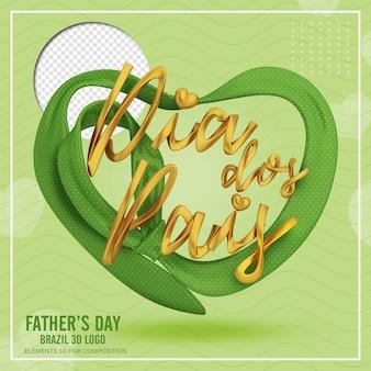 Groene hartvormige stropdas vierkante weergave