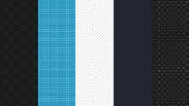 Groep van web patronen