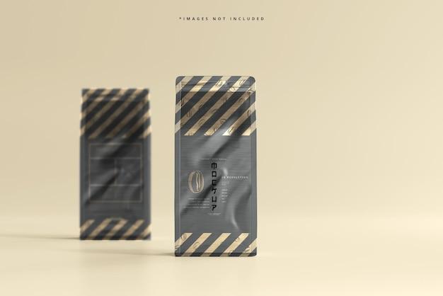 Groot formaat koffiezakverpakkingsmodel
