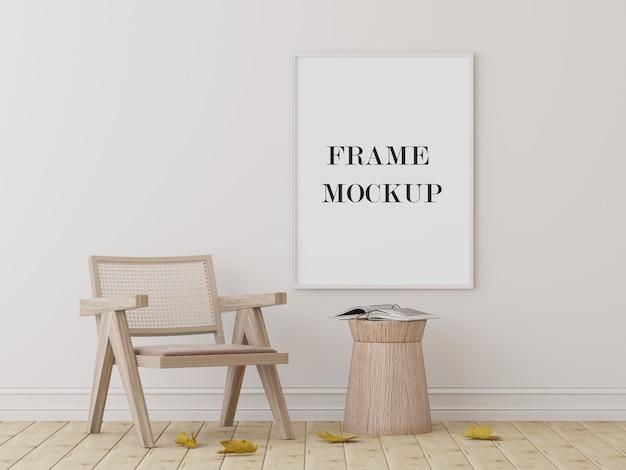 Groot wit fotolijstmodel