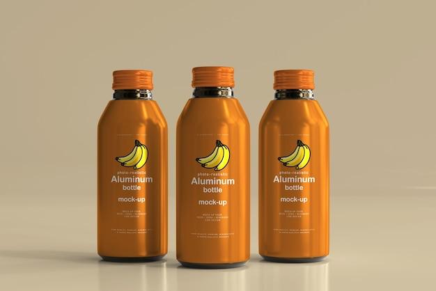 Grote aluminium drankflesmodel