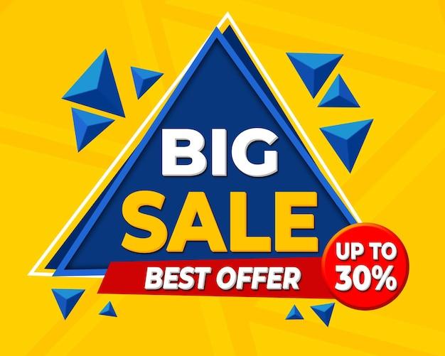 Grote verkoop driehoek vorm beste aanbieding