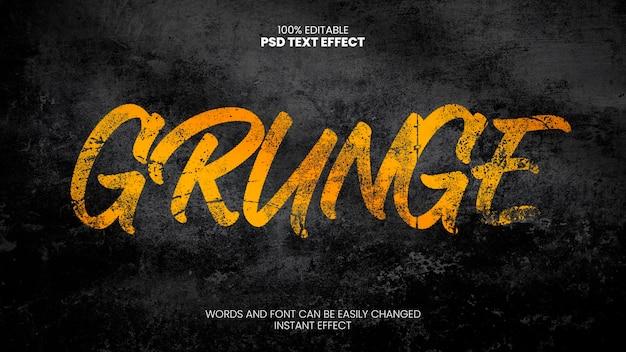 Grunge teksteffect