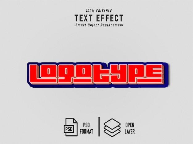 Gta-lettertype-effect sjabloon bewerkbaar