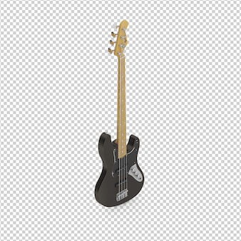 Guitarra isometrica