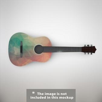 Guitarra mock up projeto