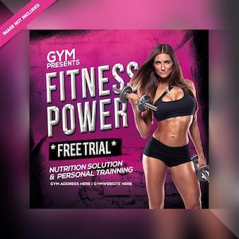 Gym instagram bericht
