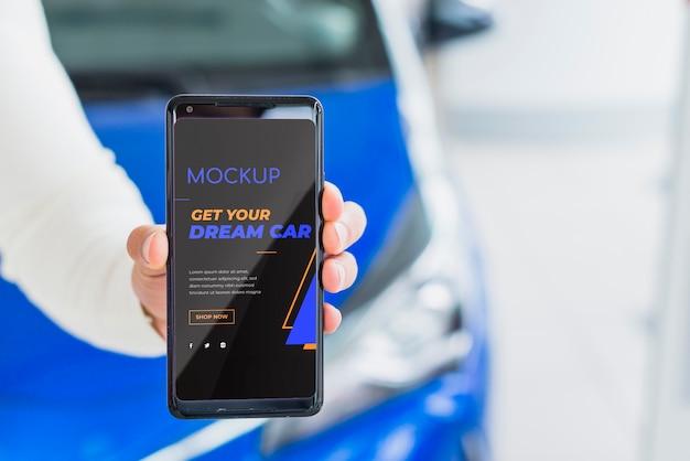 Haal het digitale model van uw droomauto