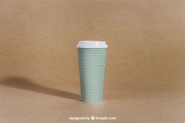 Haal koffiekopje weg