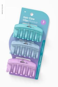 Haarklauwclips blistermodel