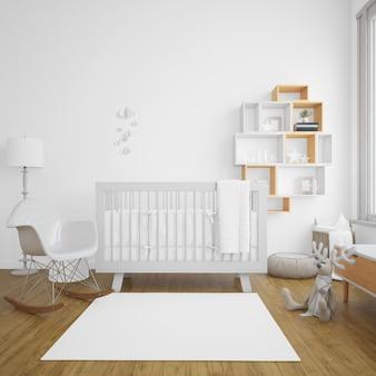 Habitación de bebe con luminosidad