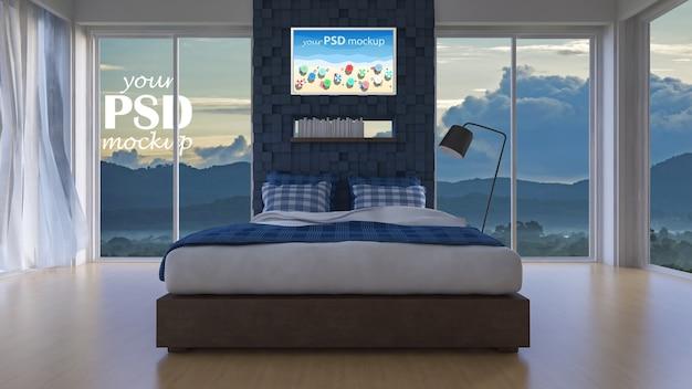 Habitación con vistas al mar 3d