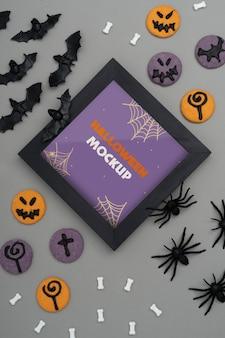Halloween border mock-up assortiment
