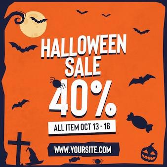Halloween instagram verkoop