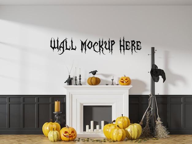 Halloween vakantie muur sjabloon