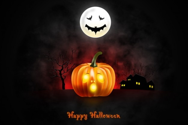 Halloween wallpaper per desktop & iphone ipad