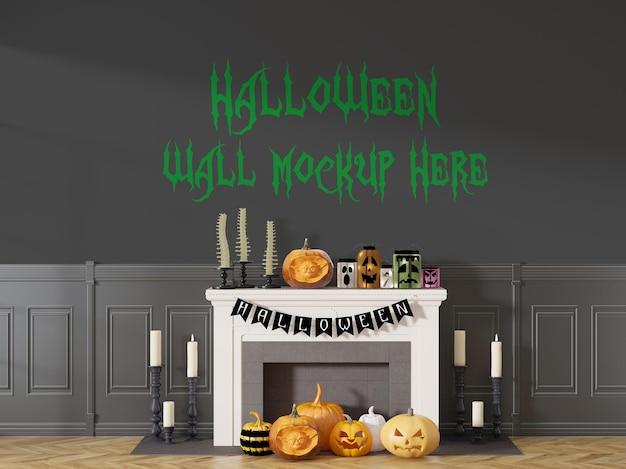 Happy halloween vakantie muur achtergrond