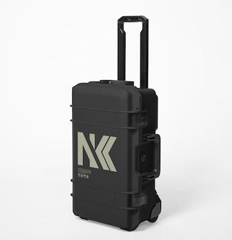 Hardcase rollen voor het vervoeren van camera's mockup