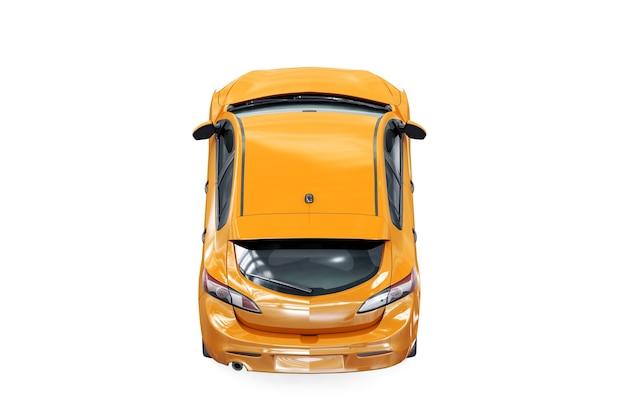 Hatchback auto 2011 mockup