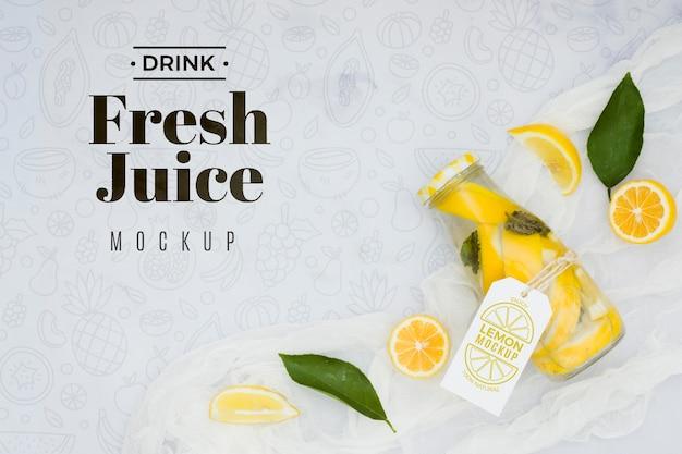 Heerlijk fruit concept mock-up