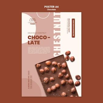 Heerlijke chocoladeposter