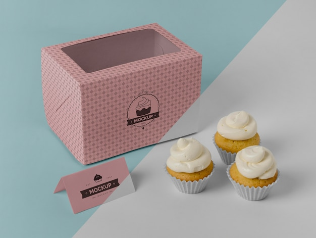 Heerlijke cupcakemodel