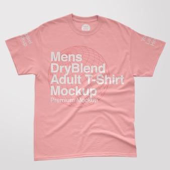 Heren dryblend t-shirtmodel voor volwassenen
