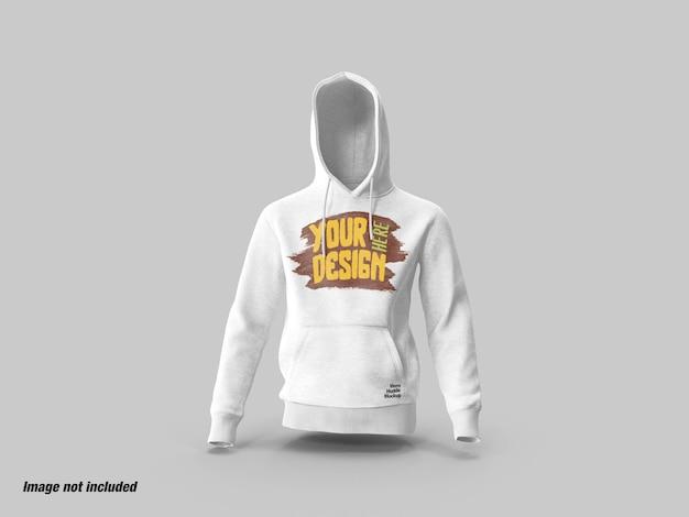 Heren hoodies vooraanzicht mockup Premium Psd