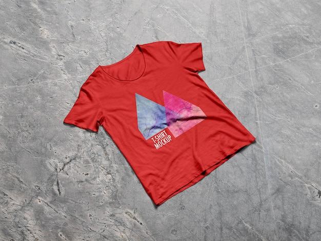 Heren t-shirt mockup