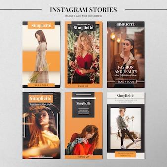 Herfst instagram verhaalsjabloon