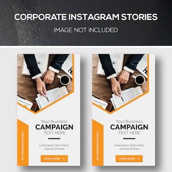 Historias de instagram corporativo