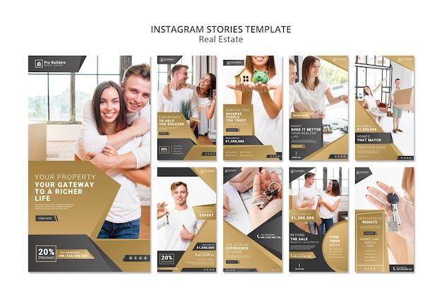 Historias de instagram inmobiliarias