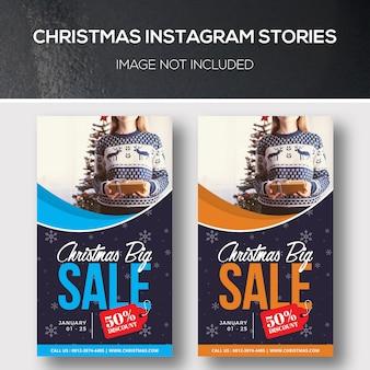 Historias navideñas de instagram